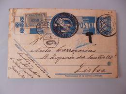 TUDO POR A NAÇÂO - PORTEADO - Postal Stationery