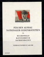 Allemagne DDR 1956 Mi. Bl. 14 Bloc Feuillet 100% Neuf ** Thalmann - [6] Repubblica Democratica