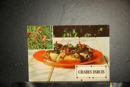 CP, CUISINE ANTILLAISE, Cuisine Antillaise - Les Crabes Farcis, Martinique - Recetas De Cocina