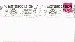 37295. Carta ZARAGOZA 1990. Rodillo Especial Mercado Vehiculo Usado, MOTOROCASION - 1931-Heute: 2. Rep. - ... Juan Carlos I