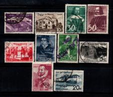 Angola 1948 Mi. 305-314 Oblitéré 60% Colonie D'Angola - Angola