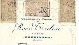 Traite 1925 / 66 PERPIGNAN / R TRIDON / Vins / Timbres Fiscaux - Bills Of Exchange