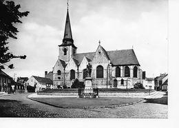 MEISE   De Kerk - L'Eglise   Standbeeld Baron D'Hooghvorst - Meise