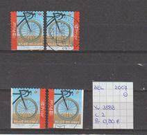 België 2007 - Yv. 3588 - OCB 3603/a/b/c Gest./obl./used - Belgium