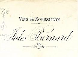Traite 1900 / 66 PERPIGNAN / Jules BERNARD / Vins Du Roussillon / Timbre Fiscal - Bills Of Exchange