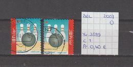 België 2007 - Yv. 3589 - OCB 3604/a Gest./obl./used - Belgium