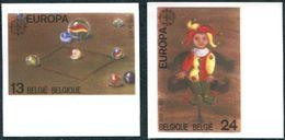 13189026 BE 19890506; Europa, Jeux D'enfants, Jeu De Billes, Pantin; ND Cob2323-24 N°512 - Belgium