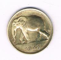 1 FRANC 1949 BELGISCH CONGO /6223/ - Congo (Belge) & Ruanda-Urundi