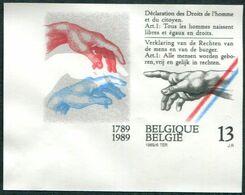 13189041 BE 19890610; Déclaration Droits De L'homme; ND Cob2327 N°510 - Belgium