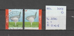België 2007 - Yv. 3590 - OCB 3605/a Gest./obl./used - Belgium