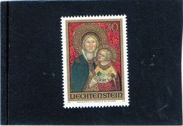 1973 Lietchenstein - Madonna Col Bambino Di Bartolomeo Di Tommaso Da Foligno - Madonnas