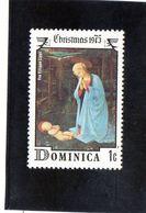 1975 Dominica - Madonna Col Bambino Di Fra Filippo Lippi - Madonnas