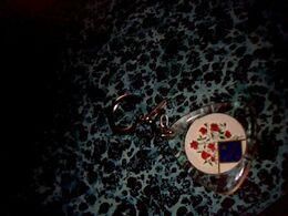 """Publicité Porte-clefs  Publicitaire Fête """" Bouquet Provincial"""" à Noyon 15/05/1966 - Key-rings"""