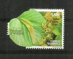 Feuille De Citron-vert (lime)   Timbre Neuf **, Année 2020. AND.ESP - French Andorra