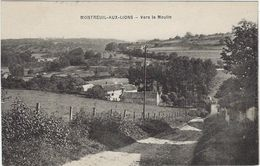 02  Montreuil Aux Lions  Vers Le Moulin - Other Municipalities