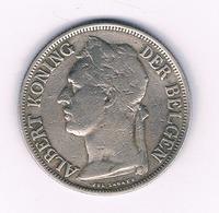 1 FRANC 1927   BELGISCH CONGO /6232/ - 1910-1934: Albert I