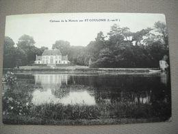 2042  Carte Postale CHÂTEAU DE LA METTRIE  Par St COULOMB     35 Ille Et Vilaine - Saint-Coulomb
