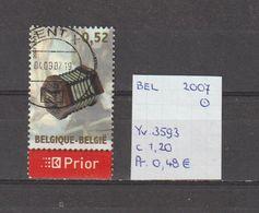 België 2007 - Yv. 3593 - OCB 3612 Gest./obl./used - Belgium