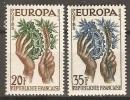 FRANCE     -    1957   -    EUROPA   .  Y&T N° 1122 à 1123 ** - 1957