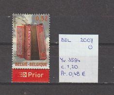 België 2007 - Yv. 3594 - OCB 3613 Gest./obl./used - Belgium