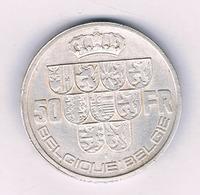 50 FRANC 1940 FR (mintage 631000 Ex) BELGIE/6235/ - 1934-1945: Leopold III