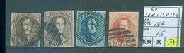 10A 2x-11A Et 12A  Côte 154.00€ - 1858-1862 Medallions (9/12)