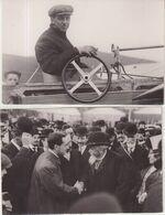 FRANCE : AVIATION . 3 PHOTOS DE PRESSE . 1 CP . DE H LATHAN . 1910 . - Aviation