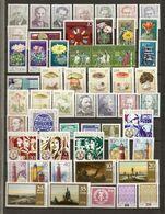 Allemagne DDR 1974 - Année Complète MNH - YT 1592/1692 + BF 35/36 - 4 Scans - Briefmarken