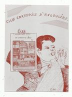 Cp, Bourses & Salons De Collections, 3 E Salon De La Carte Postale,1983 ,ANGOULEME.. - Collector Fairs & Bourses