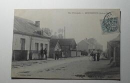 France - Montrieux - Rue Principale - 1907 - Francia