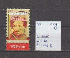België 2007 - Yv. 3605 - OCB 3620 Gest./obl./used - Belgium