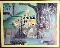 Antigua 1980 Disney Christmas Minisheet MNH - Antigua & Barbuda (...-1981)