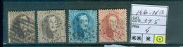 14B-16B  Côte 39.50€ - 1863-1864 Medallones (13/16)