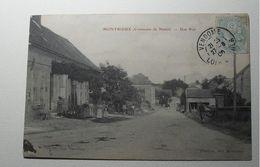 France - Montrieux - (Commune De Naveil) - Une Rue - 1908 - Frankrijk