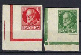 ALLEMAGNE Bavière 1920: Les Y&T 112.113 CDF, Neufs** - Bayern (Baviera)