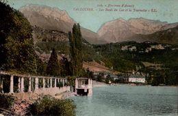 CPA 74 Talloires Les Bords Du Lac Et La Tournette N°240 - Talloires