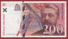 "200 Francs ""Eiffel"" 1997 ---TTB--ALPH -R----numéro .067725051 - 1992-2000 Ultima Gama"
