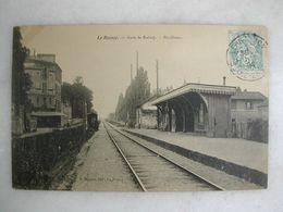 FERROVIAIRE - Gare - LE RAINCY - Gare De Raincy - Pavillons - Gares - Sans Trains