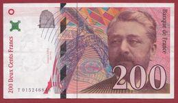"200 Francs ""Eiffel"" 1996 ---TTB+--ALPH -T----numéro .015246848 - 1992-2000 Ultima Gama"