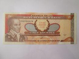Haiti 20 Gourdes 2001 Banknote Very Good Conditions - Haiti