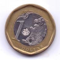 SINGAPORE 2013: 1 Dollar, KM 314 - Singapour