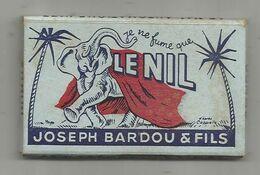 Tabac , Papier à Cigarettes , Je Ne Fume Que LE NIL , Joseph BARDOU & FILS , 3 Scans , Frais Fr 1.85 E - Other