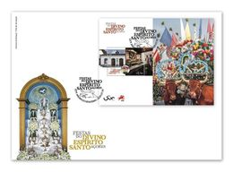 Portugal & FDCB Festivities And Pilgrimages, Divino Espírito Santo Festivities, Azores 2020 (86452) - Costumes