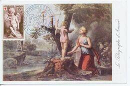 Carte Postale Musée Postal De Bordeaux 1951 - 1950-1959