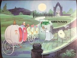 Grenada 1981 Christmas Disney Minisheet MNH - Grenada (1974-...)