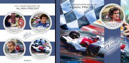 Maldives 2020, Sport, Formula 1, Prost, 4val In BF+BF - Cars