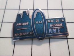 216c Pin's Pins / Beau Et Rare / THEME : MUSIQUE / ORNE JUIN 92 PRELUDE A LA FETE DE LA MUSIQUE Par DEMONS & MERVEILLES - Musik