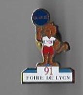 Foire De Lyon 1991 - Steden