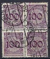ALLEMAGNE 1934: Bloc De 4 Du Y&T 336,  Obl. CAD Berlin Du 18.12.25 - Gebruikt