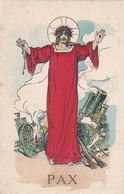 """MILITARIA.GUERRE 1914-18.ILLUSTRATION .JEAN METTEIX. GUERRE ET RELIGION . """" PAX """". ANNEE 1917 - Guerre 1914-18"""